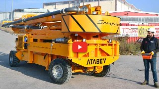 4x4 Concrete Pump